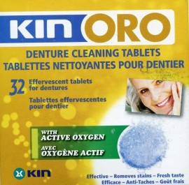 GOLD CLEANER TABLETS 32 UDS KIN