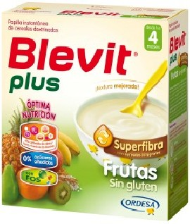 BLEVIT GLUTEN-FREE FRUIT PLUS Superfibra 600 GR