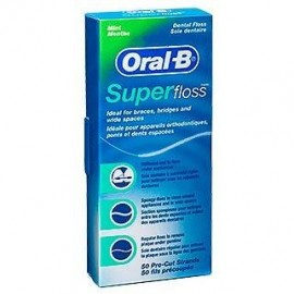 Oral B Superfloss Seda Dental, 50 ml