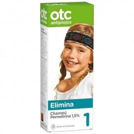 OTC Antipiojos Champu Permetrina 1.5%, 125 ml