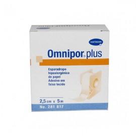 Esparadrapo Omnipor papel 5x2.5 con dispensador
