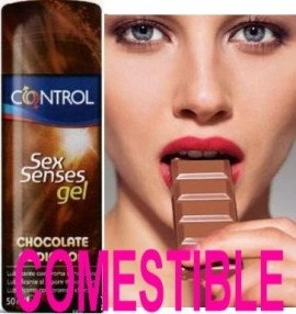 Control SexSense Chocolate Gel Lubricante, 50ml