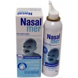 Omega Pharma Nasalmer Spray Nasal Hipertónico Suave Bebés y Niños, 125ml