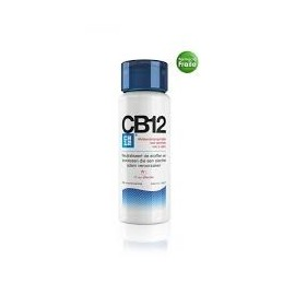 CB12 Enjuague Bucal Mal Aliento Seguro sabor Menta, 250 ml