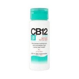 CB12 Enjuague Bucal Mild Menta 250 ml