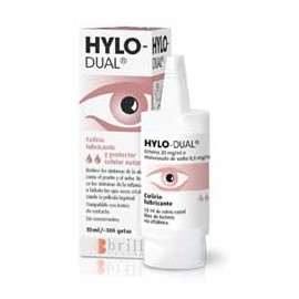Hylo-Dual colirio 10 ml con...