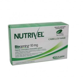 Nutrivel cápsulas de biogenina 10 mg