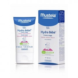 Crema hydrabebe cara Mustela  40ML