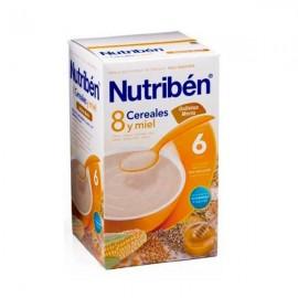 Nutribén 8 cereales con miel y Galletas maria, 600 gr