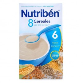 Nutribén 8 cereales, 600 gr