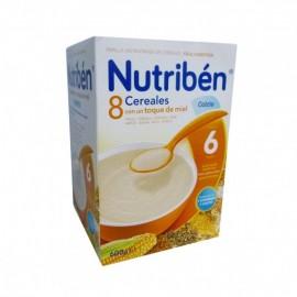 Nutribén 8 cereales con miel y calcio, 600 gr