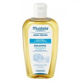 Mustela Stelatopia Aceite de baño lacteado, 250 ml