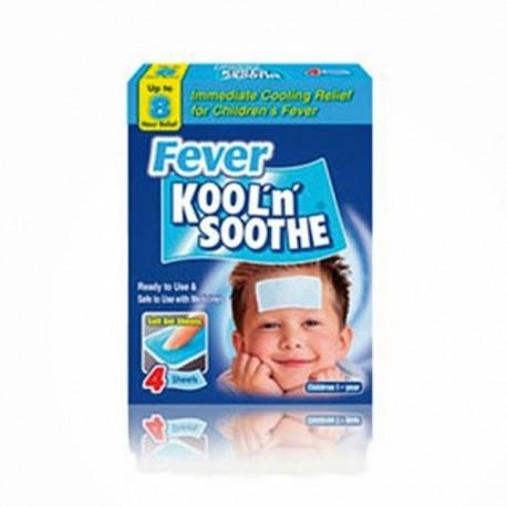 Laminas gel frio para la fiebre infantil