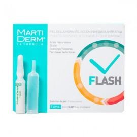 Martiderm Flash Piel Deslumbrante Acción Inmediata Antifatiga, 5 ampollas