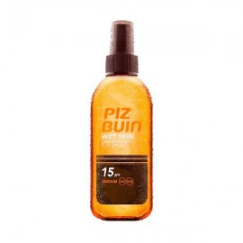 Piz Buin Wet Skin aceite transparente Spf 15+ spray de 150ml