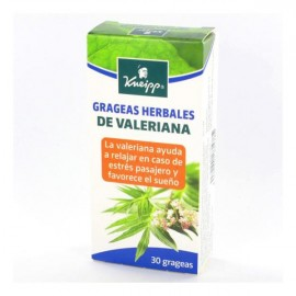 Kneipp Valeraina grageas herbales 30 caps
