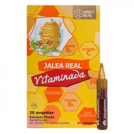 ROYAL JELLY 20 ampoules VITAMIN ARKOCHIN