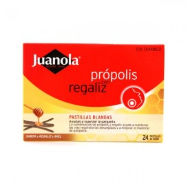 PROPOLIS JUANOLA PADS WITH LICORICE
