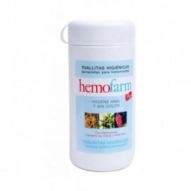 Toallitas Hemofarm plus 60 uds